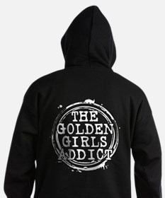 The Golden Girls Addict Stamp Dark Hoodie