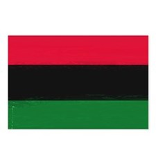 Red Black Green Postcards (Package of 8)