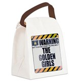 Goldengirlstv Canvas Lunch Bag