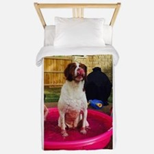 Pool dog Twin Duvet
