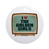 Goldengirlstv Round Ornaments