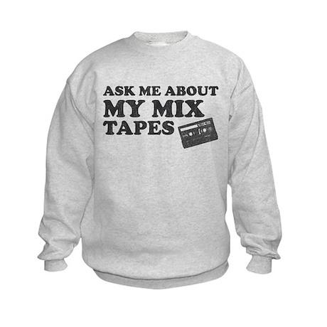 Mix Tapes Kids Sweatshirt