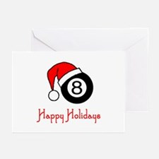 PoolChick Happy Holidays Greeting Cards (Pk of 10)