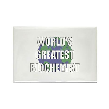World's Greatest Biochemist Rectangle Magnet