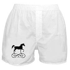 Infinity Arabian Horse Boxer Shorts