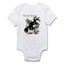 Shiba(blk)'Tis Infant Bodysuit