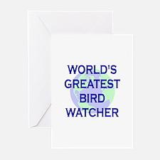 World's Greatest Bird Watcher Greeting Cards (Pk o