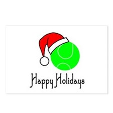 TennisChick Happy Holidays II Postcards (Package o
