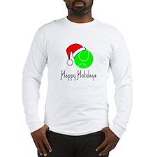 TennisChick Happy Holidays II Long Sleeve T-Shirt