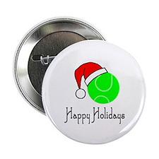 """TennisChick Happy Holidays II 2.25"""" Button"""