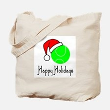 TennisChick Happy Holidays II Tote Bag