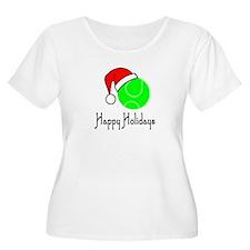 TennisChick Happy Holidays II T-Shirt