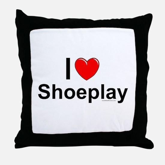 Shoeplay Throw Pillow
