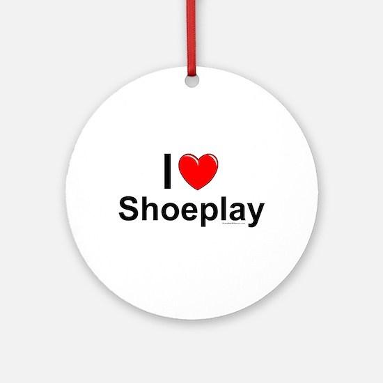 Shoeplay Round Ornament