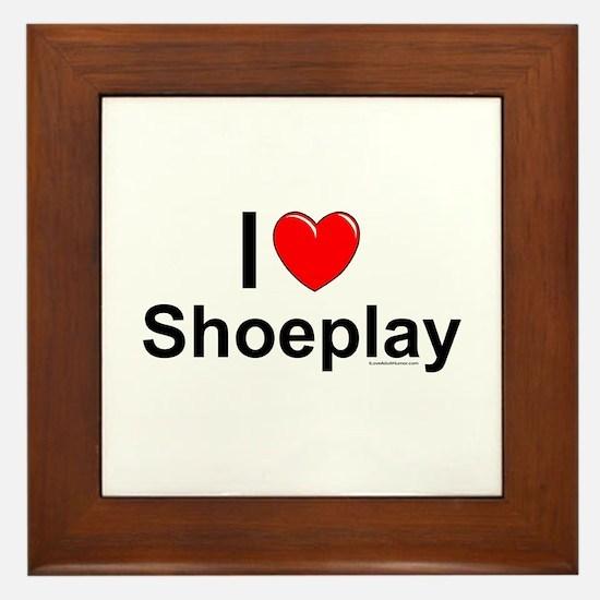 Shoeplay Framed Tile