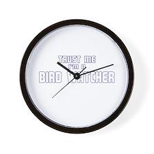 Trust Me I'm a Birdwatcher Wall Clock