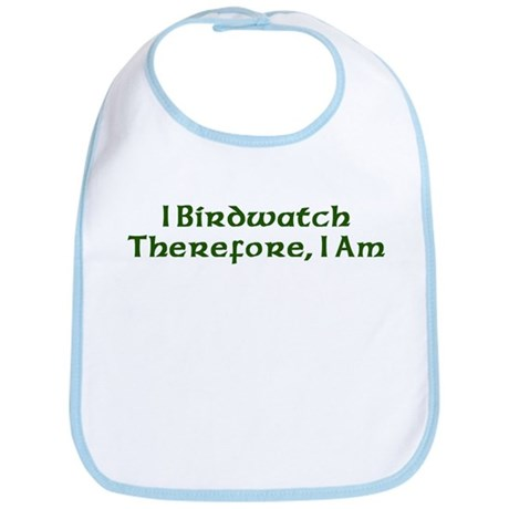 I Birdwatch Therefore I Am Bib