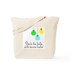 TennisChick Deck the Halls Tote Bag