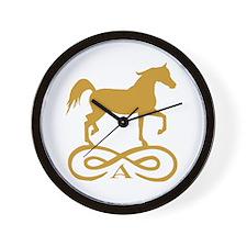 Gold Infinity Arabian Wall Clock