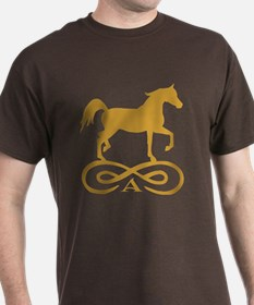 Gold Infinity Arabian T-Shirt