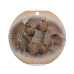 sleepingpei Ornament (Round)