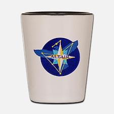 NROL-25 Altair Logo Shot Glass