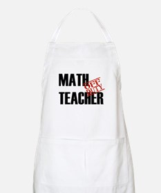 Off Duty Math Teacher BBQ Apron
