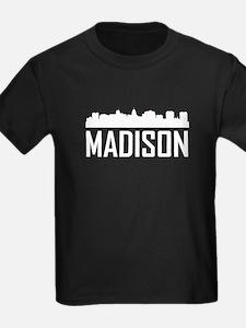 Skyline of Madison WI T-Shirt