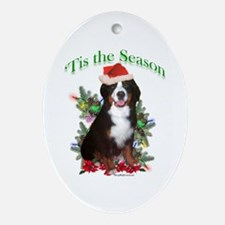 Bernese 'Tis Oval Ornament