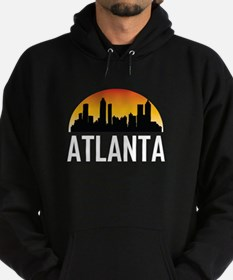 Sunset Skyline of Atlanta GA Hoodie