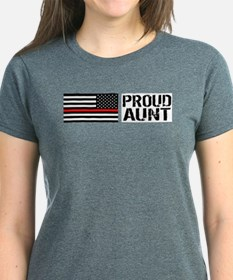 Firefighter: Proud Aunt (Blac Tee