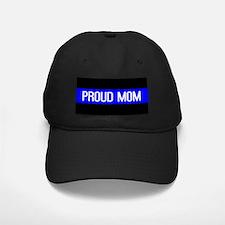 Police: Proud Mom (Thin Blue Line) Baseball Hat
