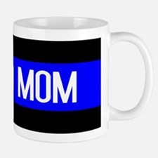 Police: Proud Mom (Thin Blue Line) Mug