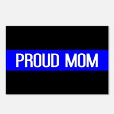 Police: Proud Mom (Thin B Postcards (Package of 8)