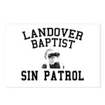 Sin Patrol Postcards (Package of 8)