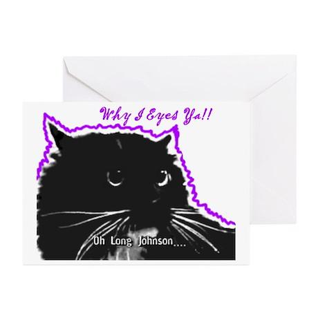 Long Johnson Greeting Cards (Pk of 10)