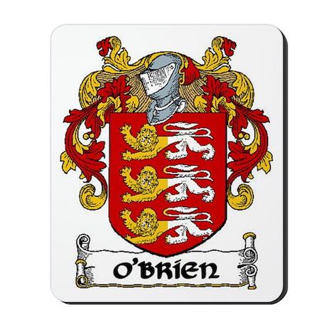 O'Brien Coat of Arms Mousepad