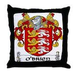 O'Brien Coat of Arms Throw Pillow