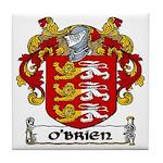 O'Brien Coat of Arms Tile Coaster