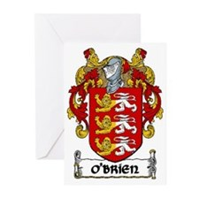 O'Brien Coat of Arms Greeting Cards (Pk of 10)