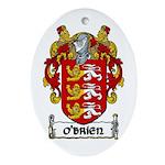 O'Brien Coat of Arms Ornament (Oval)