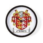 O'Brien Coat of Arms Wall Clock