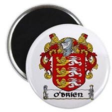 """O'Brien Coat of Arms 2.25"""" Magnet (10 pack)"""