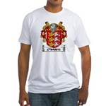 O'Brien Coat of Arms Fitted T-Shirt