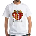 O'Brien Coat of Arms White T-Shirt