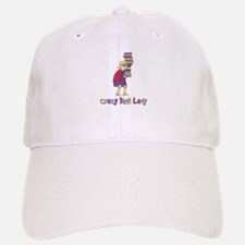 Crazy Book Lady Baseball Baseball Cap