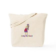 Crazy Book Lady Tote Bag