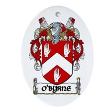 O'Byrne Coat of Arms Ornament (Oval)