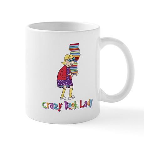 Crazy Book Lady Mug