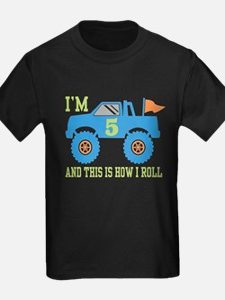 5th Birthday Monster Truck T